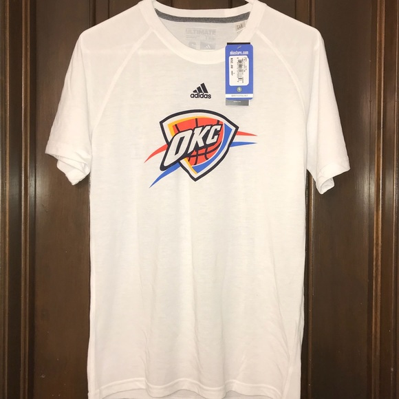 dbbb03228be9 Adidas Ultimate Tee NBA OKC Thunder Athletic Shirt